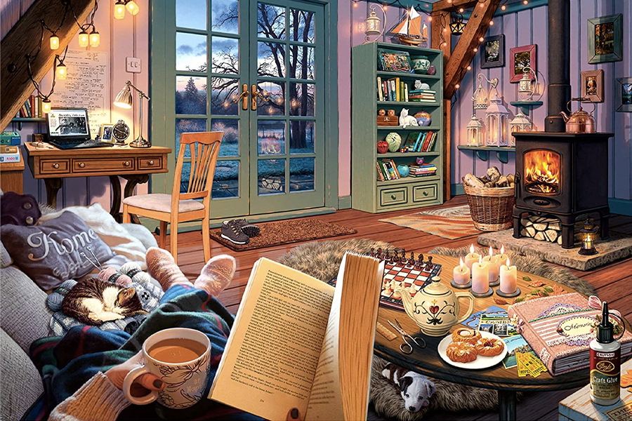 Best Puzzles for Adults - Cozy Retreat