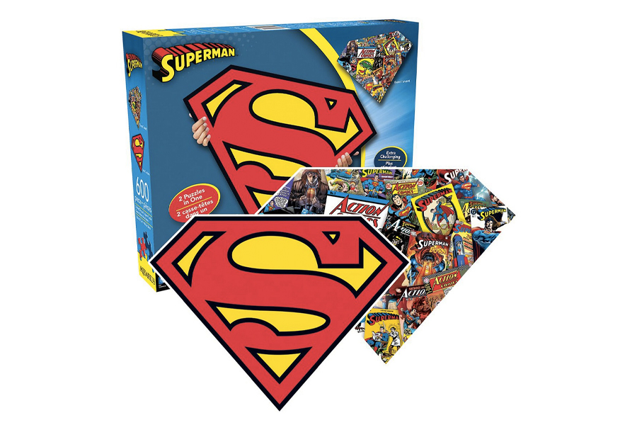 Best Puzzles for Adults - DC Comic Superman