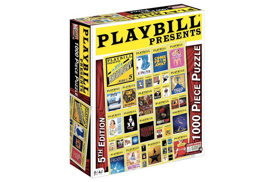Best Puzzles for Adults - Playbill Cover