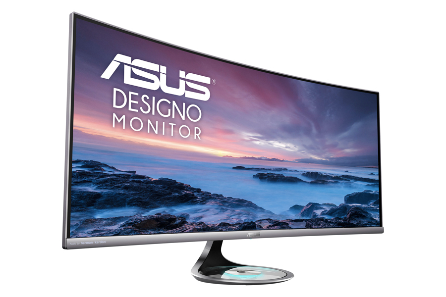 Best monitors for gaming and work - Asus Designo Curve MX38VC