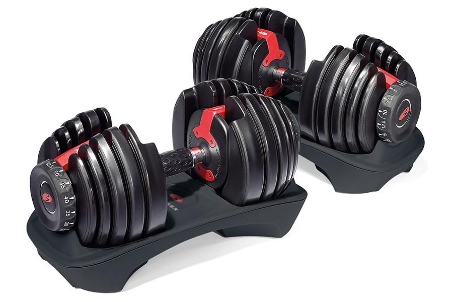 Bowflex Adjustable Weights side view