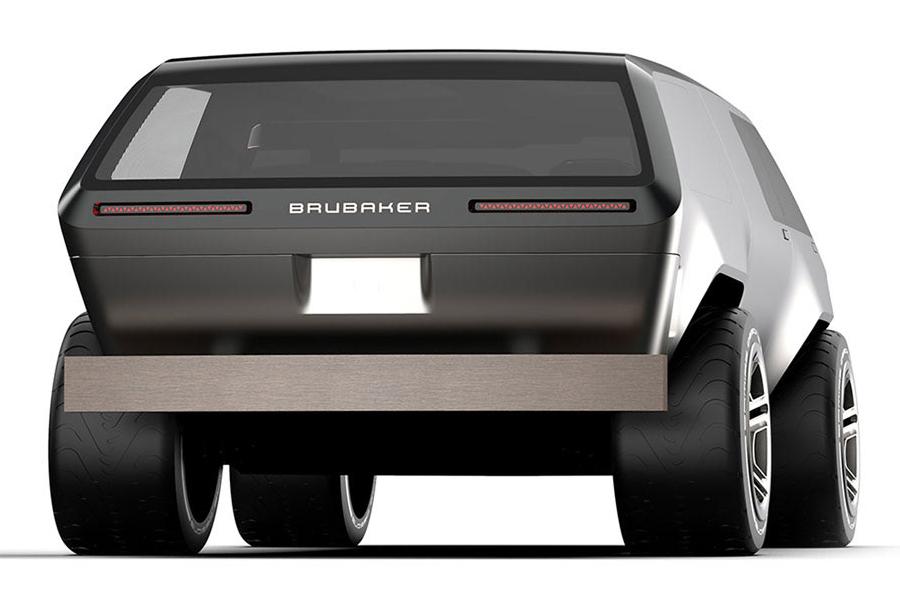 Brubaker Box Minivan back