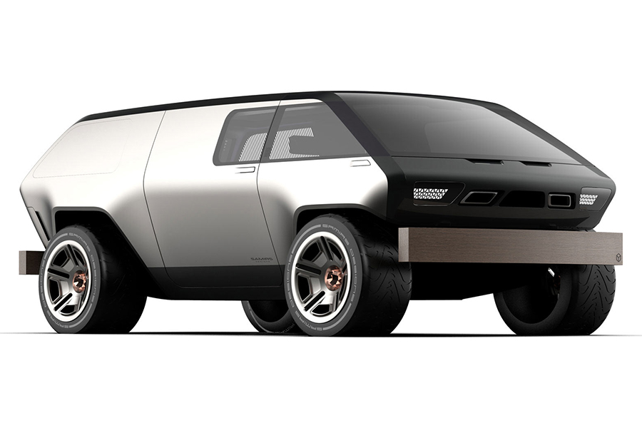 Brubaker Box Minivan