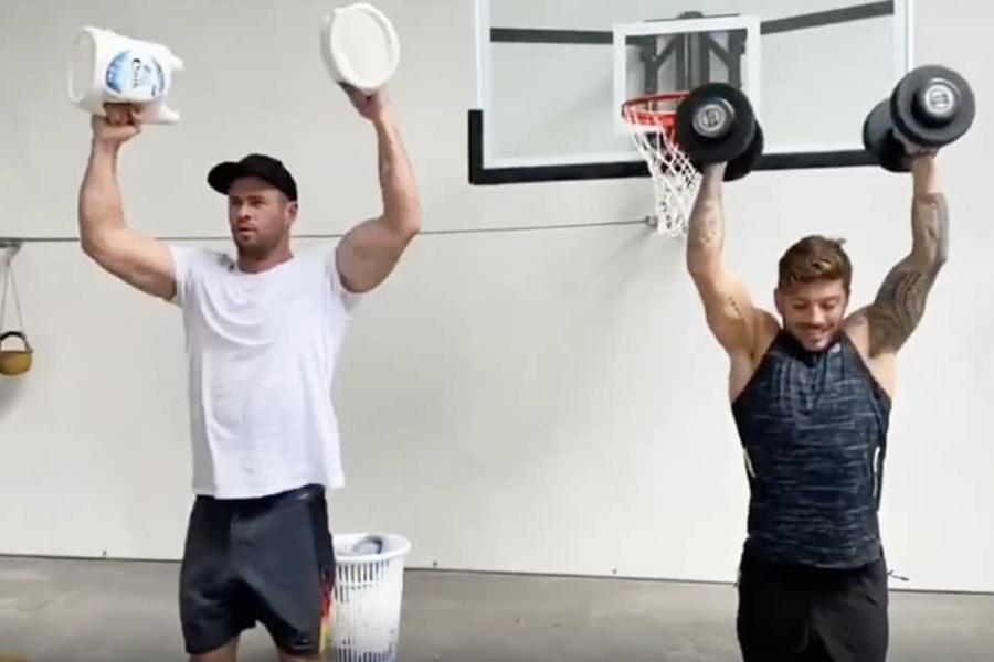 Chris Hemsworth Home Workout 2