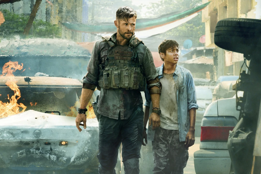 Chris Hemsworth Netflix Film Extraction trailer released