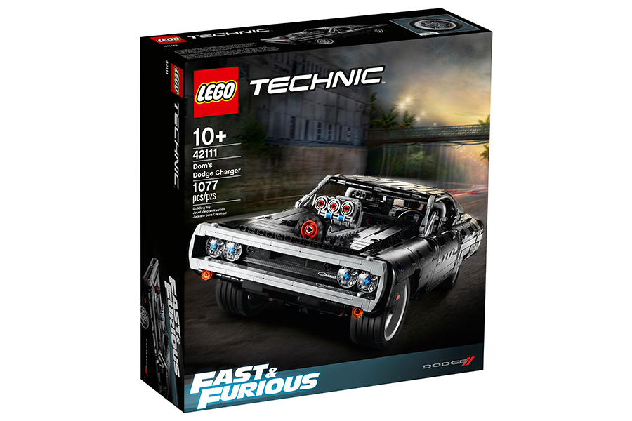 DOM's Lego Technic Dodge Charger box