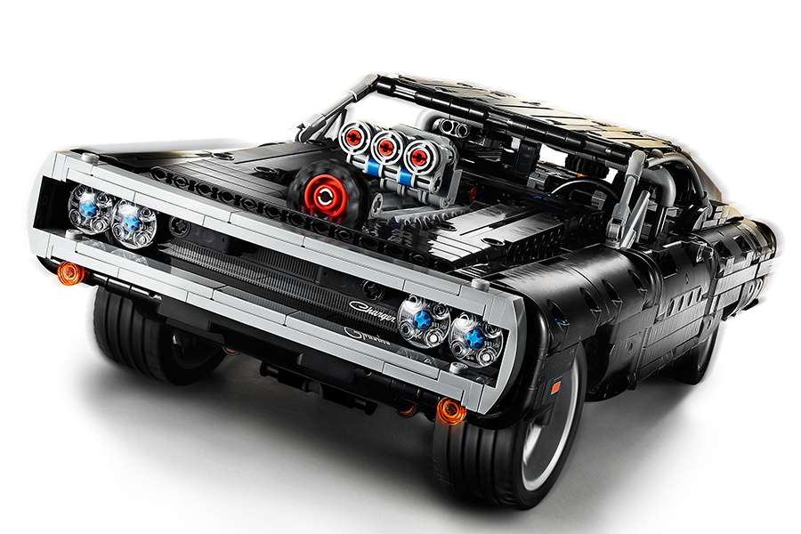 DOM's Lego Technic Dodge Charger front