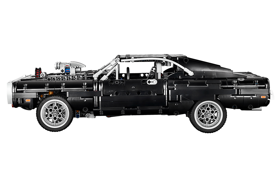 DOM's Lego Technic Dodge Charger side view