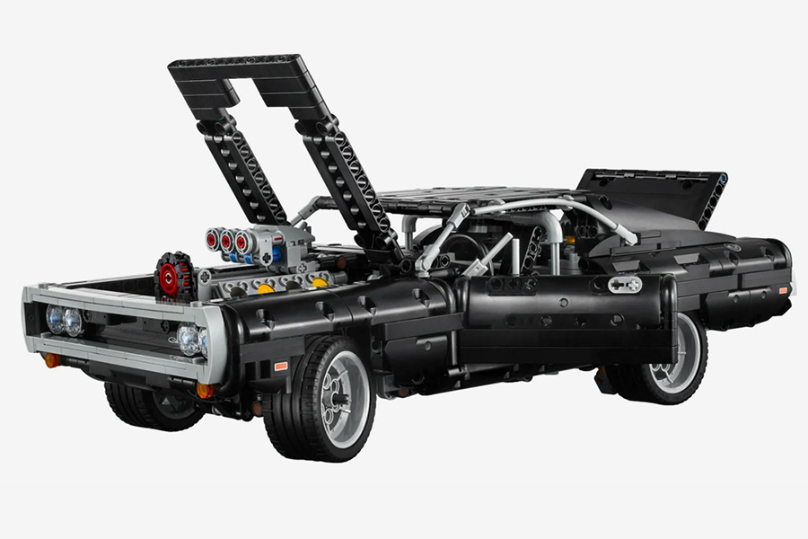 DOM's Lego Technic Dodge Charger open front