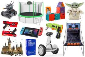 Toys featured in the list