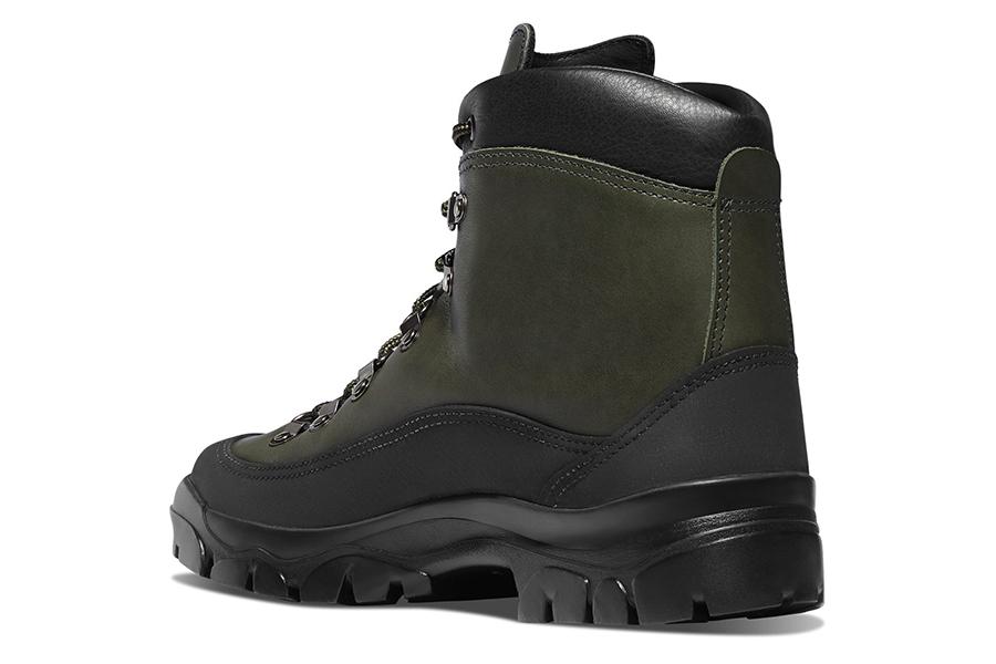 Filson x Danner Combat Hiker back view boots