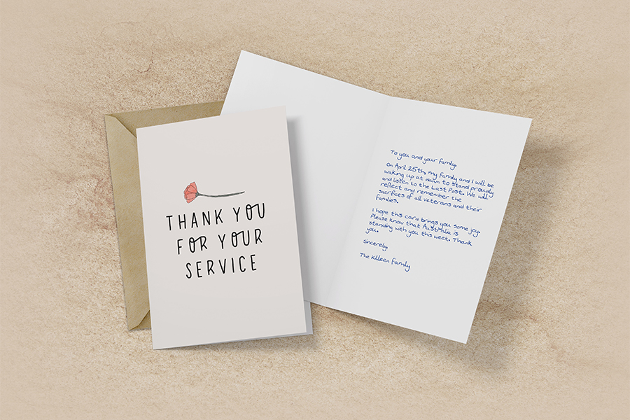 Feel-Good Friday April 17 - Cardly Celebrates ANZAC Day Card with New Campaign