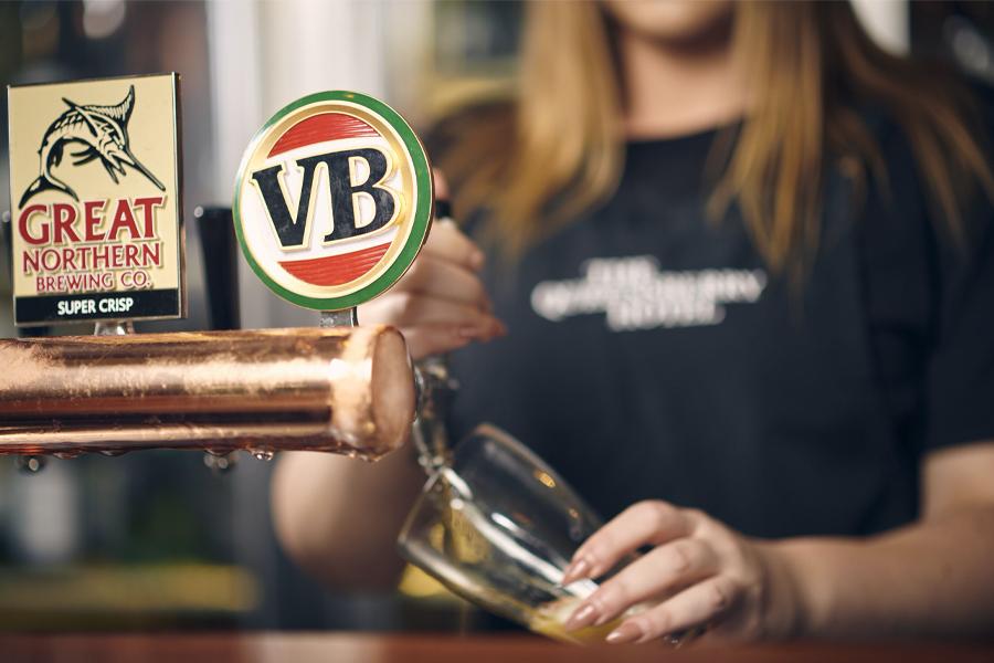 Feel-Good Friday April 17 - Carlton & United Breweries 2 for 1 Pints Lifeline