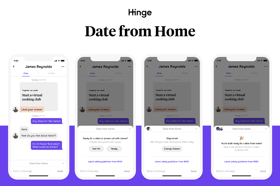 Hinge Date From Home