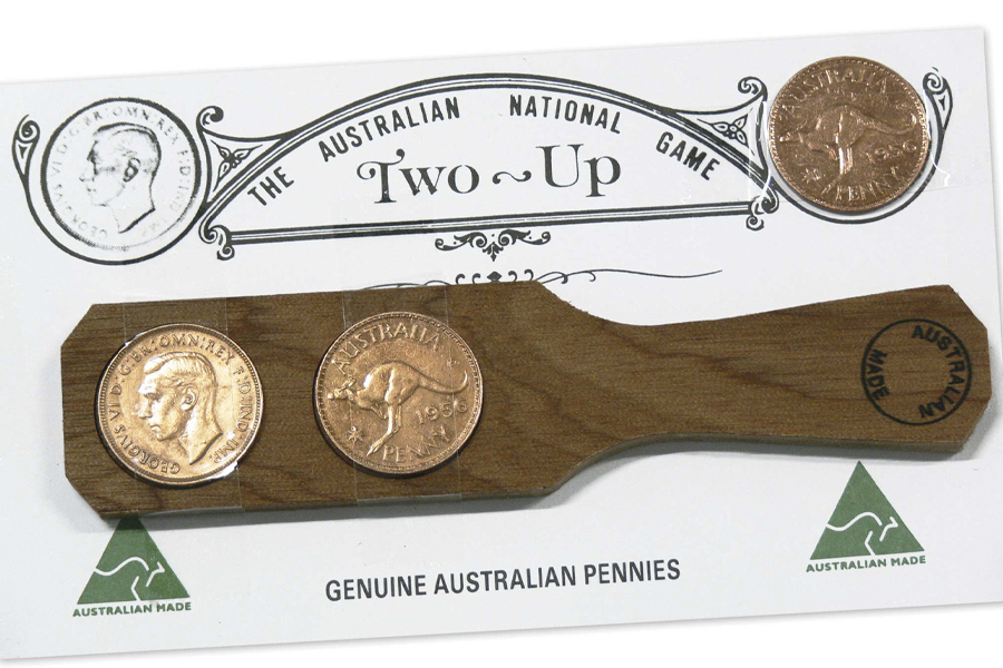 How to Play Two-Up - Australian Mint Two-Up Set