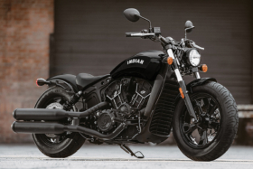Indian Scout Bobber Sixty motorcycle