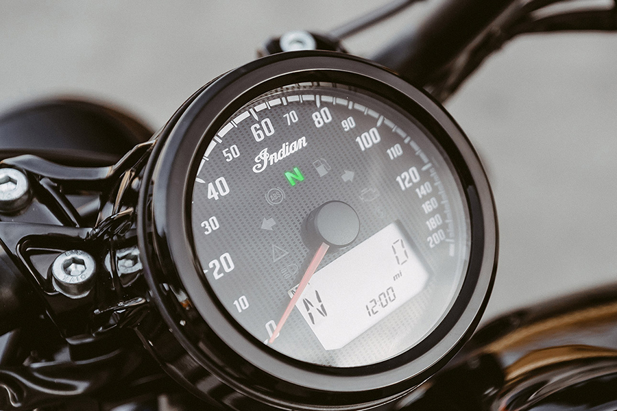 Indian Scout Bobber Sixty meter