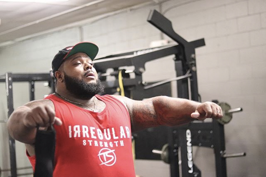 Julius Maddox Owns New All Time Bench World Record