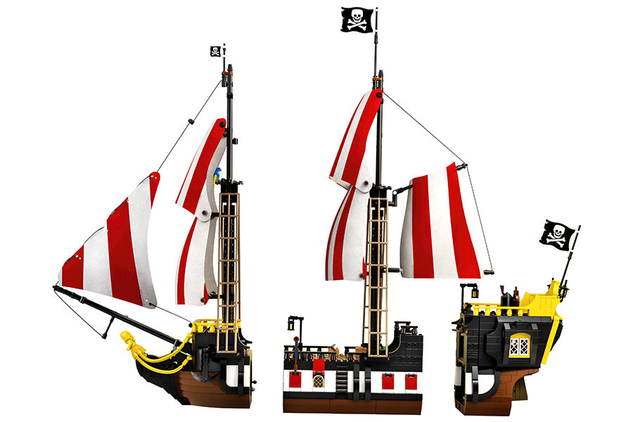 Lego Pirates of Barracuda set