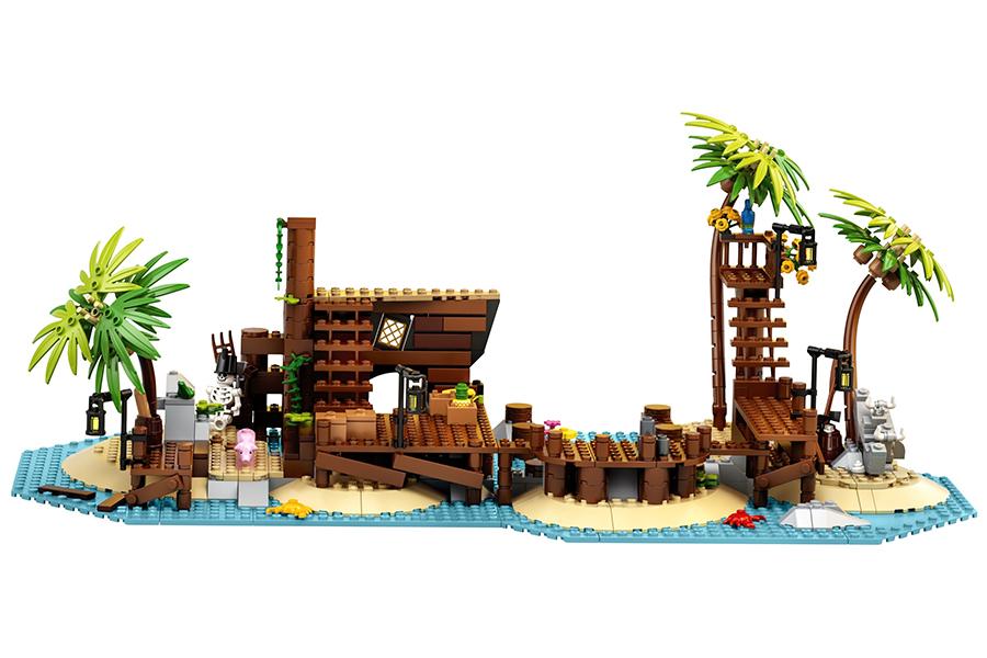 Lego Pirates of Barracuda Bay Building set