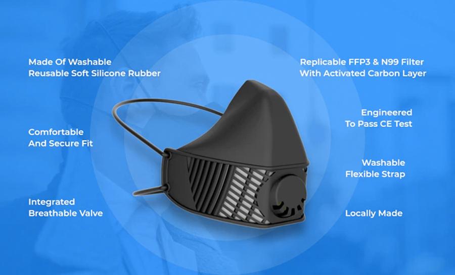 LMP Reusable Face Mask 1