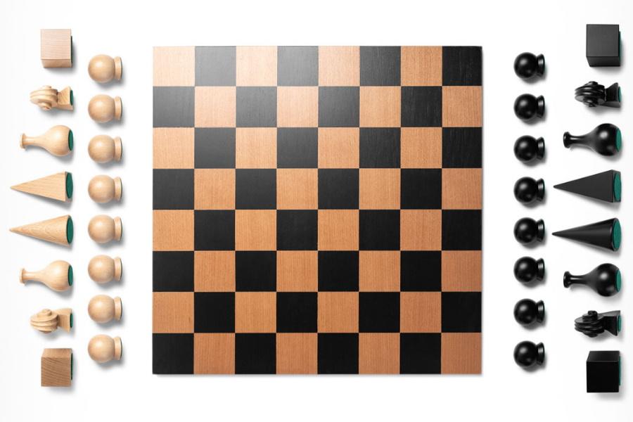 man ray chess set