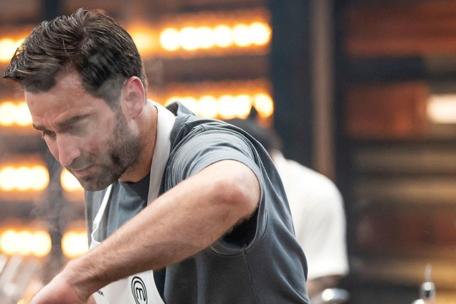 A MasterChef Australia contestant cooks