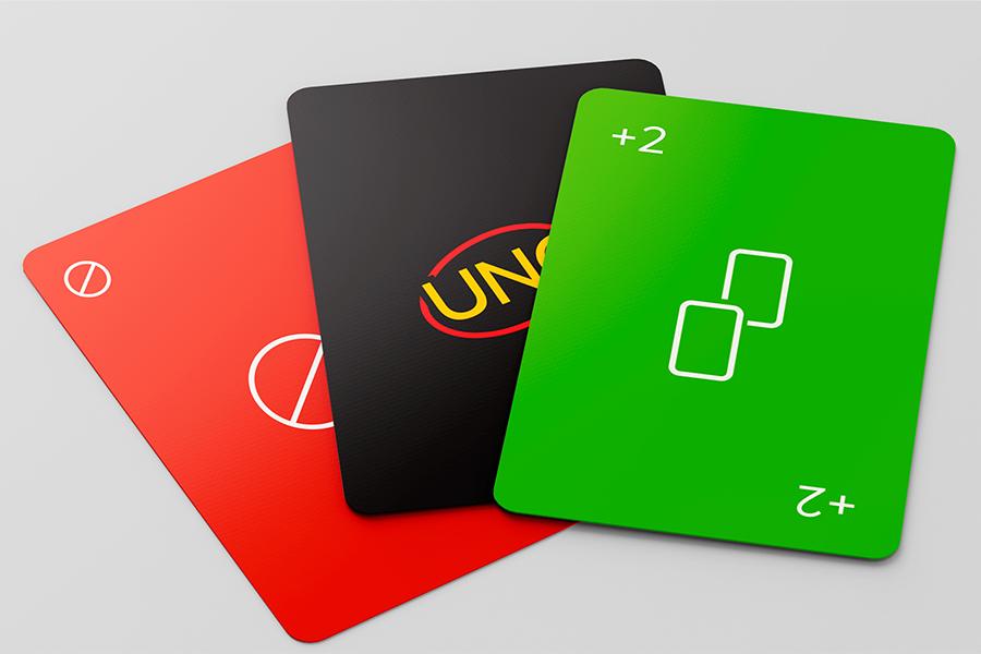 UNO Minimalistia cards