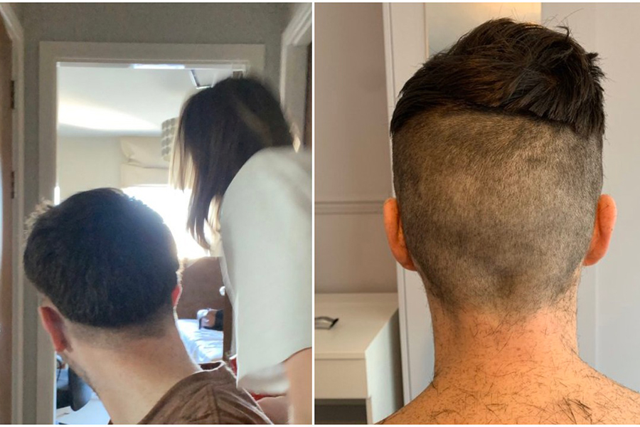 Men Who Are Copping God-Awful Self-Isolation Haircuts From Their Girlfriends