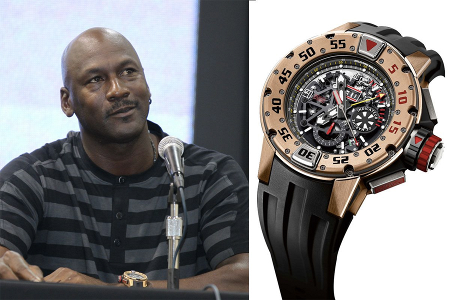 Michael Jordan Watch Collection - Richard Mille RM 032 Diver Flyback Chronograph