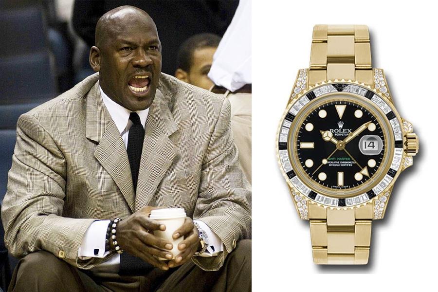 Michael Jordan Watch Collection - Rolex GMT-Master II 116758-SANR
