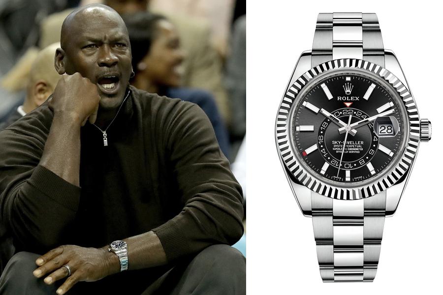 Michael Jordan Watch Collection - Rolex Sky-Dweller