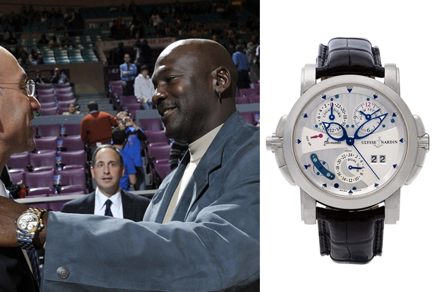Michael Jordan Watch Collection - Ulysse Nardin Sonata Cathedral