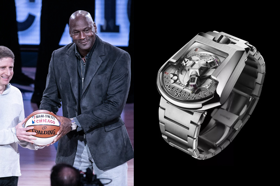 Michael Jordan Watch Collection - urwerk ur-202
