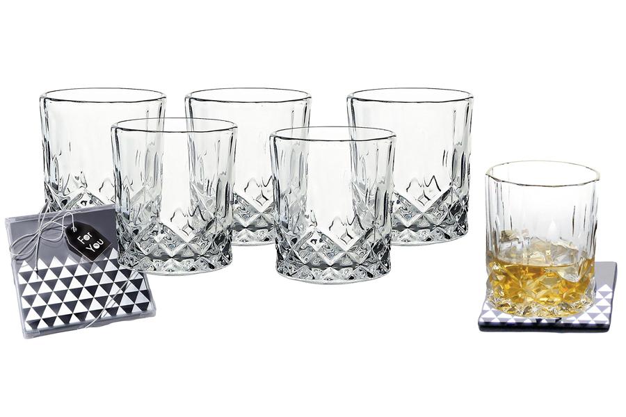 Michael Jordan the last dance - Waterford Connoisseur Lead Crystal Double Glasses
