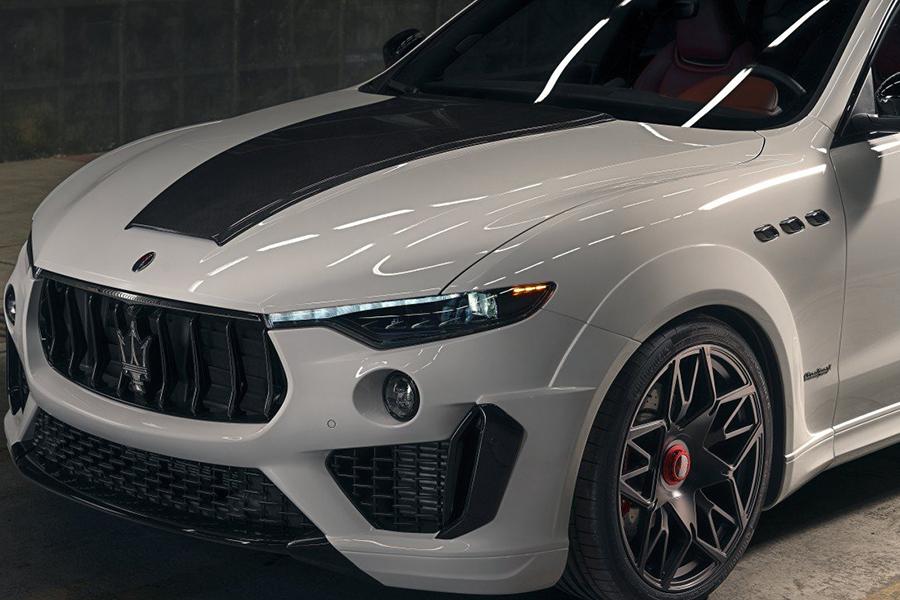 NOVITEC's ESTESO Maserati Levante SUV headlight