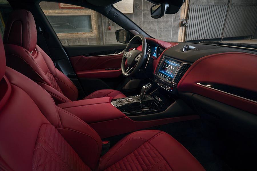 NOVITEC's ESTESO Maserati Levante SUV dashboard