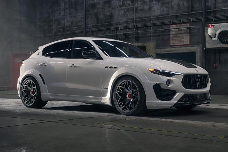 NOVITEC's ESTESO Maserati Levante SUV vehicle