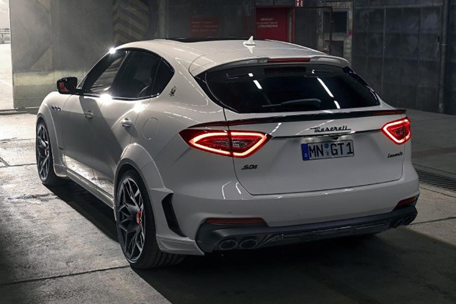 NOVITEC's ESTESO Kit Boosts The Maserati Levante SUV's HP To 624