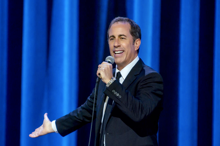 Jerry Seinfeld in his Netflix Special Jerry Seinfeld: 23 Hours To Kill