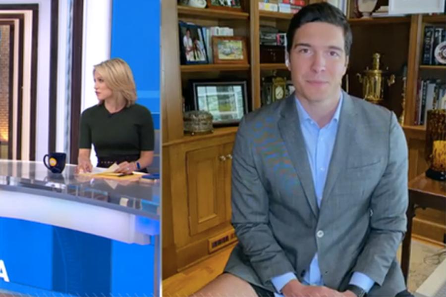 No Pants Reporter 2