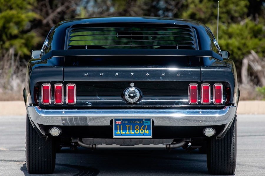 1969 Ford Mustang Boss 429 Fastback back