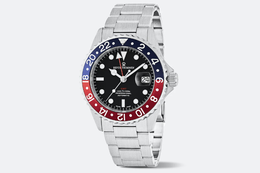 Save Nearly 70% Off this Revue Thommen Diver GMT Automatic Watch