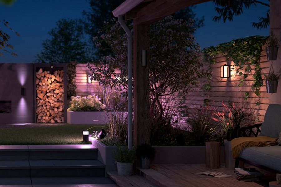 Philips Hue Outdoor smart lighting