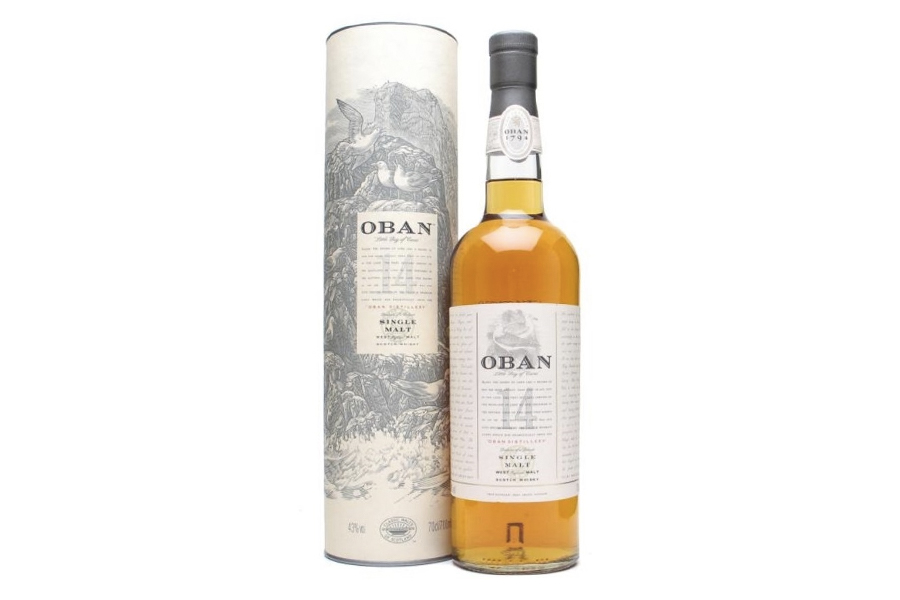 Pope Franchise Whisky - Oban 14 – Single Malt, 14 Year