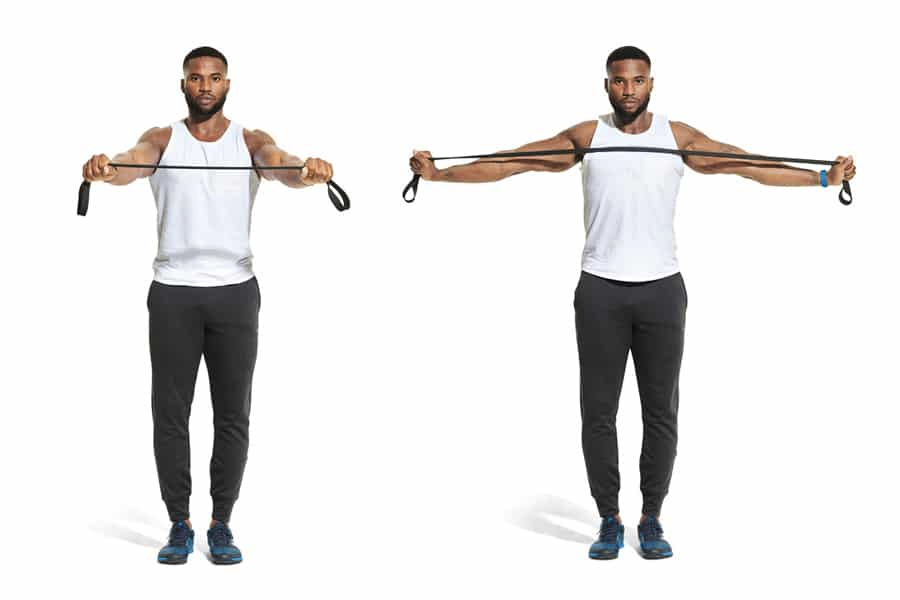 Prison Workout - Band Pull Aparts