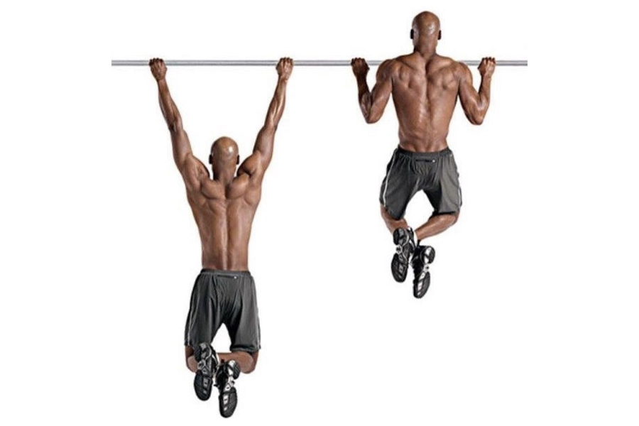 Prison Workout - Wide Grip Pull-Ups