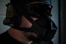 TR2 Tactical Respirator wearing by man