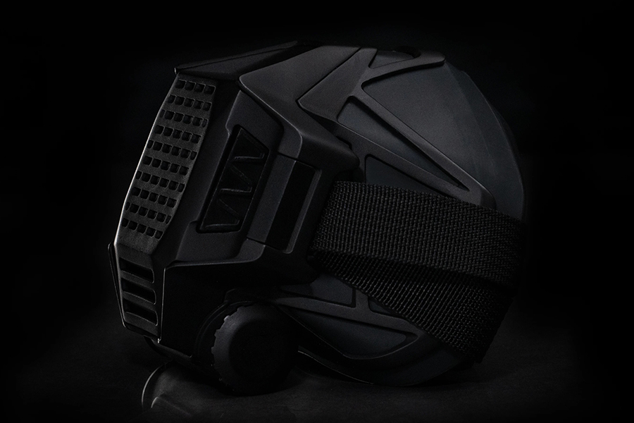 Project Black's TR2 Tactical Respirator side view