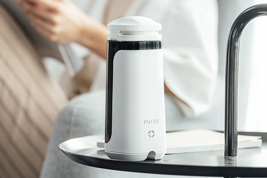 Purus Air i Plus top of the table